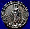 Swiss Medal Hans Herzog, Switzerland's General during the Franco-Prussian War 1870 - 1871, reverse.jpg