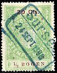 Switzerland Lucerne 1908 revenue 6 20c - 114 - E 5 08.jpg