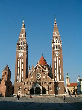 https://upload.wikimedia.org/wikipedia/commons/thumb/a/a7/Szeged-dom1.jpg/270px-Szeged-dom1.jpg