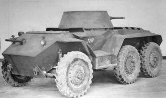 M8 Greyhound - Image: T22 armored car haugh