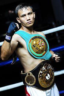 Jonathan Taconing Filipino boxer