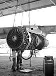 TF33 engine for KC-135 Strotanker at AMARC 1984.JPEG