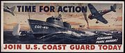 TIME FOR ACTION. JOIN U.S. COAST GUARD TODAY - NARA - 515822