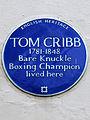 TOM CRIBB 1781-1848 Bare Knuckle Boxing Champion lived here.jpg