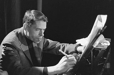 TV-uitzending Domino Jacques Brel tijdens de opname in Amsterdam, Marcanti, Bestanddeelnr 914-8399.jpg