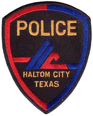 Haltom City, Texas - Alternative badge of the HCPD