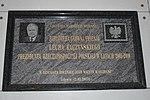 Tablica pamiątkowa poświęcona Lechowi Kaczyńskiemu w Bibliotece Głównej Akademii Marynarki Wojennej.jpg