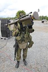 Taistelunäytös FIM-92 Stinger 3 Kokonaisturvallisuus 2015.JPG