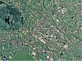 Takase district Mitoyo city center area Aerial photograph.2015.jpg