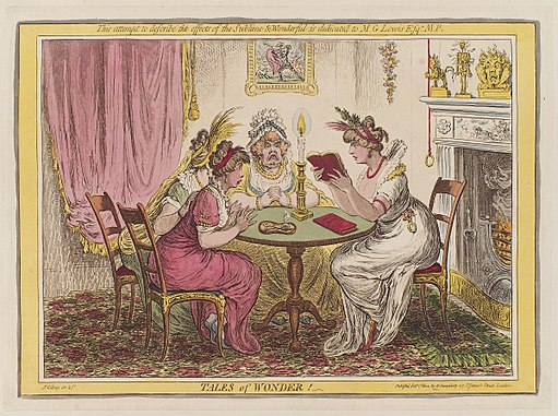 Tales of wonder by James Gillray