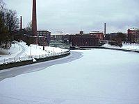 Tammerkoski, Tampere, December 2, 2002