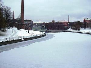 Tammerkoski - Tammerkoski in winter