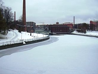 Tammerkoski - Tammerkoski in winter