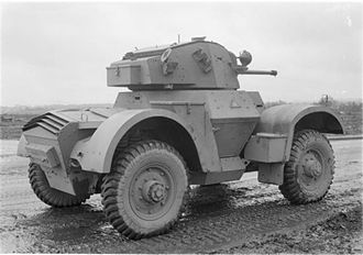 H-drive - Daimler Armoured Car