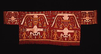 Chimú culture - Chimú Tapestry Shirt, 1400–1540, Camelid fiber and cotton - Dumbarton Oaks