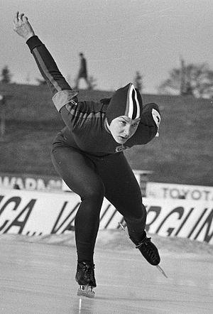 Tatyana Averina - Tatyana Averina in 1975