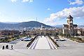 Tbilisi Sameba Cathedral. Main portal.jpg