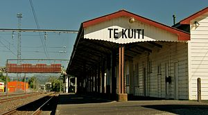 "George Troup (architect) - Te Kuiti described by the Rail Heritage Trust as, ""the finest remaining example of a standard class B station"""