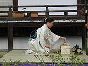 ukázka čajového obřadu