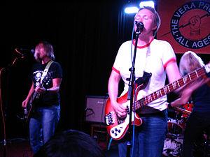 Team Dresch - Team Dresch performing at The Vera Project in Seattle on September 20, 2009