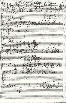 Kantate Die Hirten bei der Krippe zu Bethlehem (1759) (Quelle: Wikimedia)