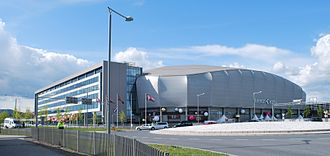 2010 in Norway - The Telenor Arena in Bærum where the Eurovision Song Contest 2010 was held at