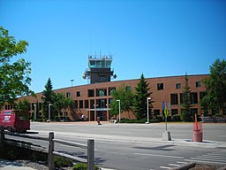 Terminal at Missoula Airport, May 2007