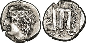 Bardylis - Damastion coin 380-360 BCE