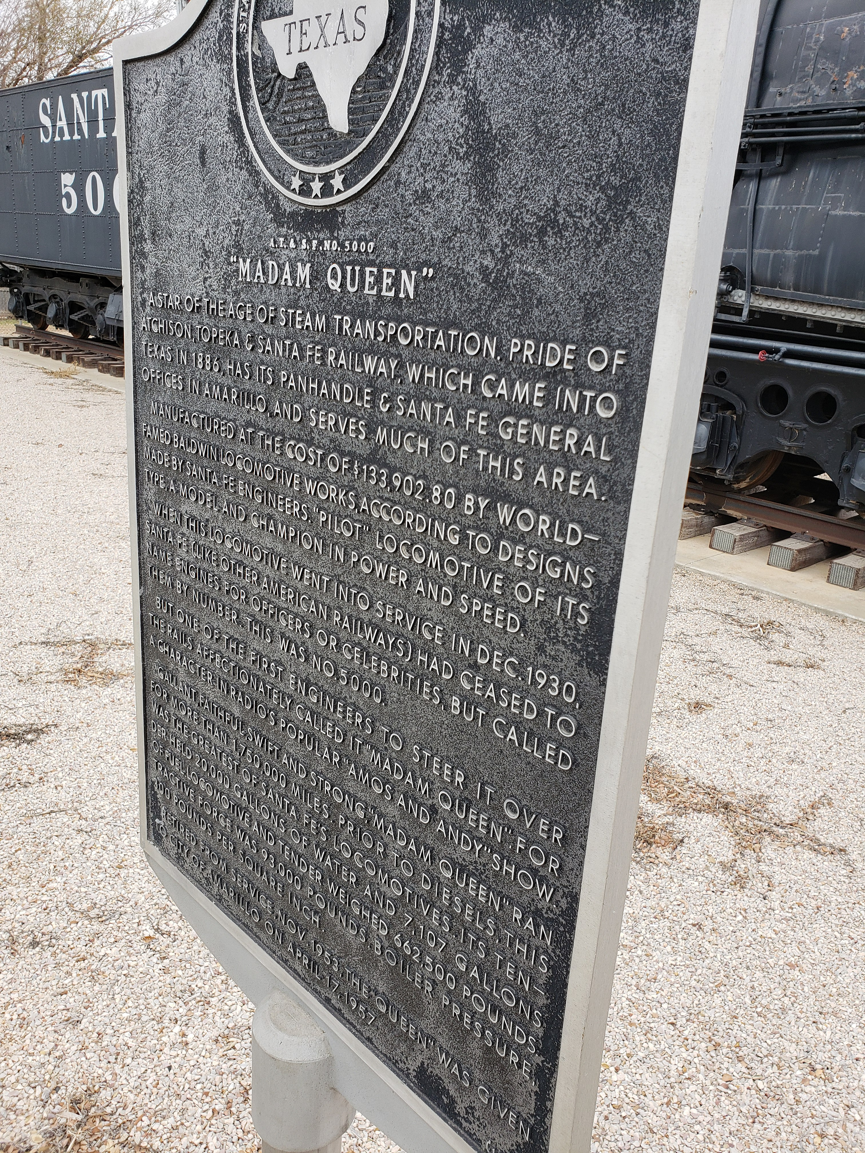 File:Texas Historical Marker Madam Queen jpg - Wikimedia Commons