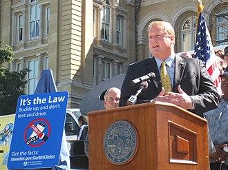 Chet Culver - Governor Culver in 2010