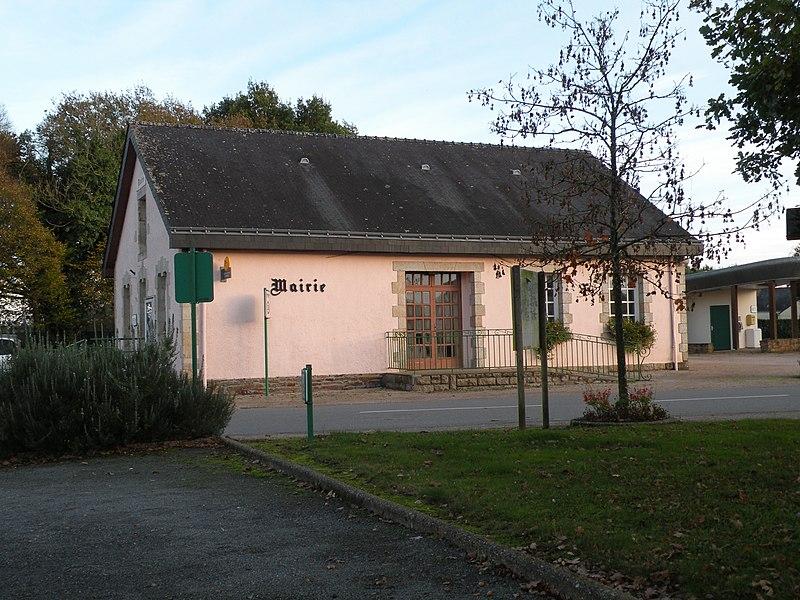Mairie de Théhillac.