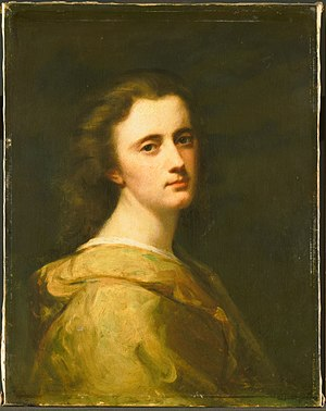 Thérèse Schwartze - Thérèse Schwartze at 16 by her father