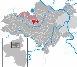 Thür Place in Rhineland-Palatinate, Germany