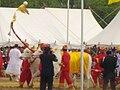 Thai Royal Ploughing Ceremony 2009 - royal oxen 2.jpg