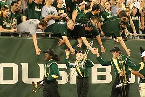 University of South Florida Herd of Thunder - Image: Thankingthefans