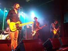 The Trews at Capital Music Hall in Ottawa, May 2008