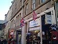 The British Union flag and the American Stars and Stripes in Edinburgh, Scotland.jpg
