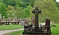 The Celtic Cross and the graveyard - geograph.org.uk - 823841.jpg