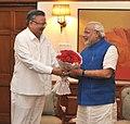 The Chief Minister of Chhattisgarh, Dr. Raman Singh calling on the Prime Minister, Shri Narendra Modi, in New Delhi on June 10, 2014.jpg