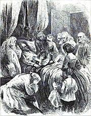 The Death Scene of the Emperor Charles VI