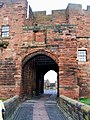 The Entrance Gate, Outer Gatehouse, Carlisle Castle - geograph.org.uk - 1087562.jpg