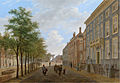The Hague, The Herengracht in the direction of the Bezuidenhout, by Bartholomeus Johannes van Hove.jpg
