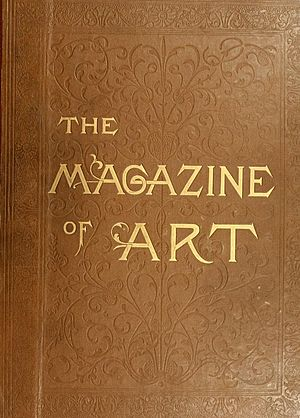 The Magazine of Art - Image: The Magazine of art cover