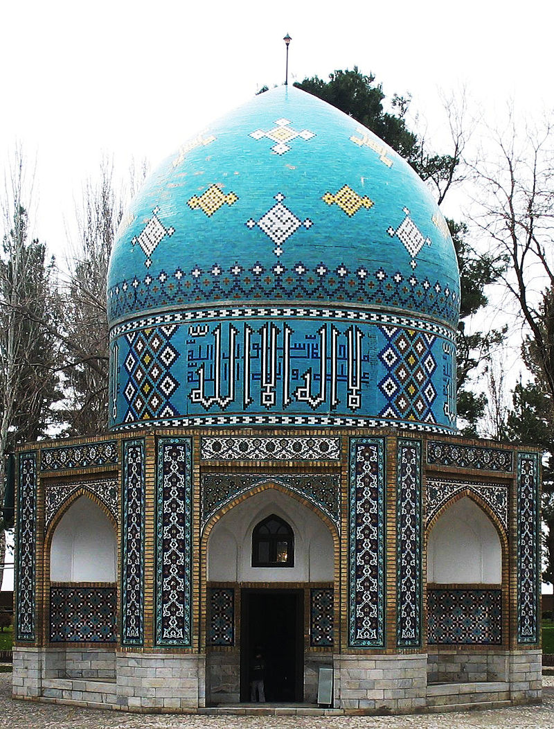 Mausoleum of Attar Neyshaburi in Nishapur, Iran