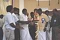The Minister for Slum clearance & Accommodation control, Tamil Nadu, Shri Suba Thangavelan lighting the lamp to inaugurating the Bharat Nirman Public Information Campaign.jpg