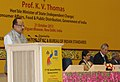 The Minister of State (Independent Charge) for Consumer Affairs, Food and Public Distribution, Professor K.V. Thomas delivering the presidential address at the opening ceremony of the 77th IEC General Meeting, in New Delhi.jpg