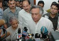 The Minister of State for Commerce and Power, Shri Jairam Ramesh and the Chief Minister of Delhi, Smt. Sheila Dikshit interacting with media, in New Delhi on April 13, 2008.jpg