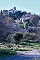 The National Observatory of Athens and the Church of St Marina from the Ancient Agora on February 1, 2020.jpg