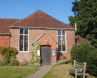 Ditchling - The Old Meeting House of 1740 is used by Unitarians.