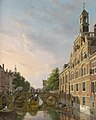 The Old Women and Children Home at the Spui, The Hague, by Bartholomeus Johannes van Hove.jpg